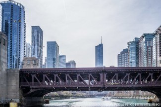 chicago skyline by artur ciesielski