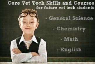 vet tech core skills